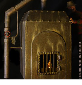 Nightmare on Elm Street Freddy's Furnace Diorama