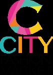 Un logotipo listo mercado de la moda de la ciudad 1