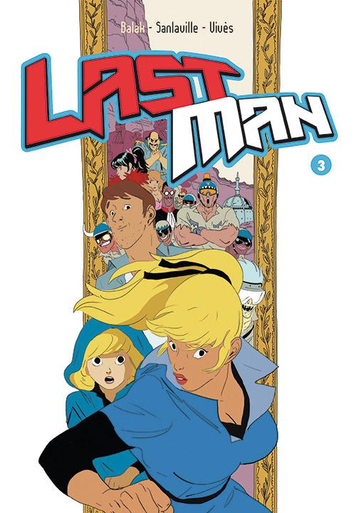 Anteprima del terzo volume di Last Man, il fumetto disegnato da Bastian Vives