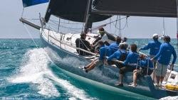 J/125 sailing Heineken Regatta off St Maarten