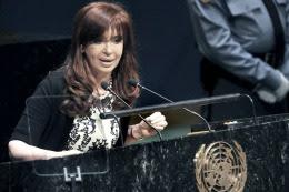 ARGENTINA: Presidenta Cristina viaja a Nueva York para dar su último discurso en la Asamblea de la ONU