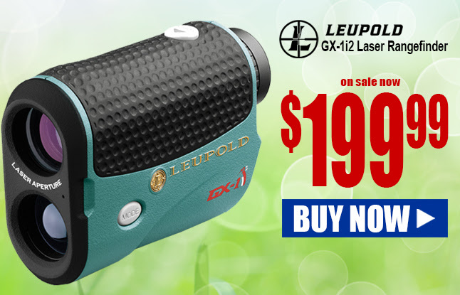 Leupold GX-1i Laser Rangefinder $199.99 and FREE ship! On sale now