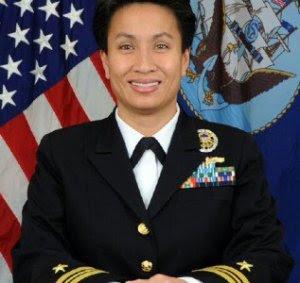 Em bé ngày xưa, nay là Trung Tá Kimberly M. Mitchell