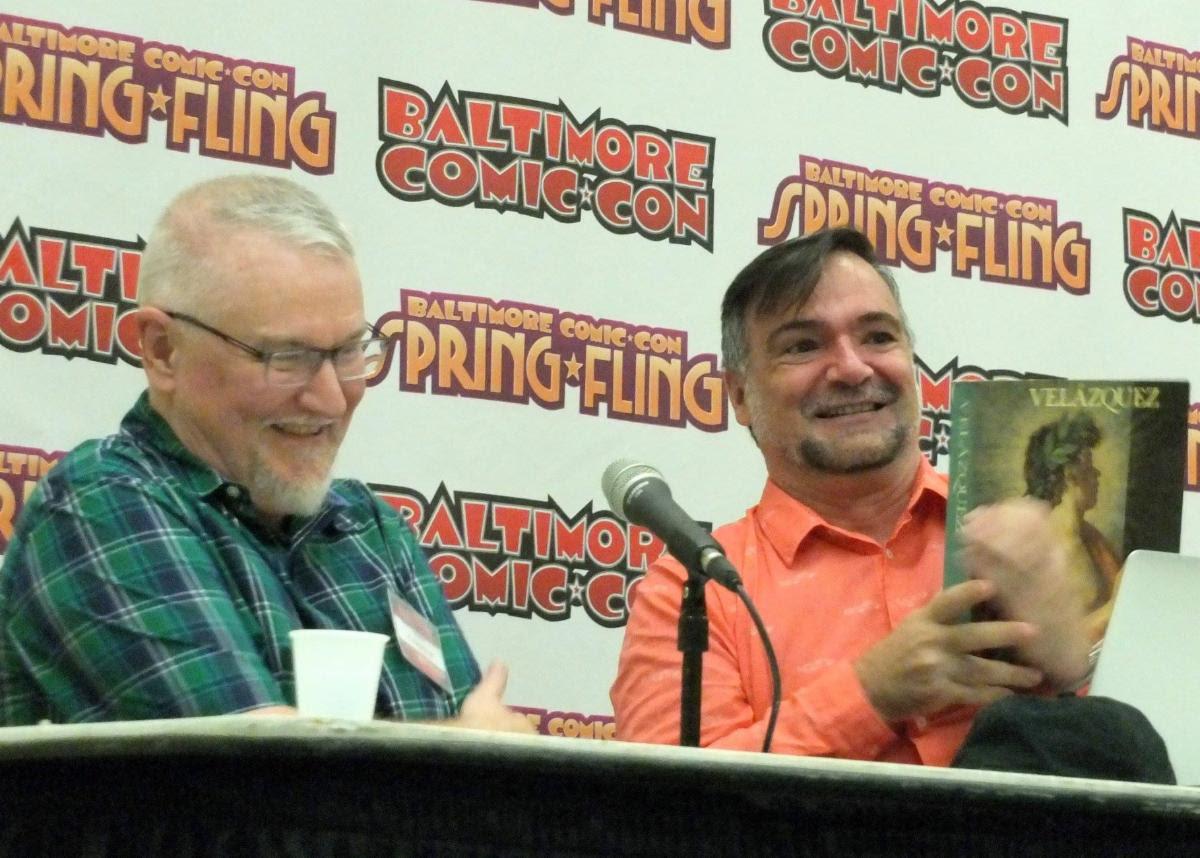 P. Craig Russell Spotlight Panel 2018 with Jose Villarrubia