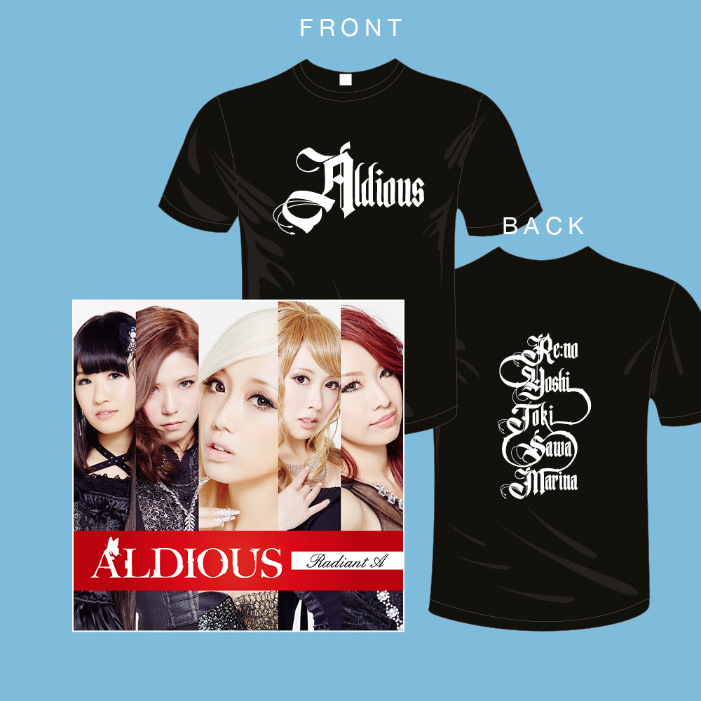 Aldious CD+Tshirt bundle