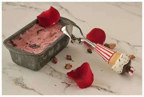 Rose Petal Ice Cream