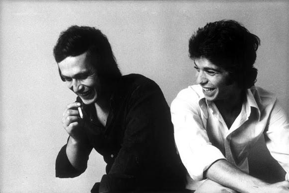 Con Camarón de la Isla (derecha), otro ícono de la música flamenca. Foto: Pepe Lamarca/Quipos Press.