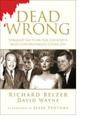 Dead Wrong by Richard Belzer and David Wayne