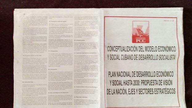 Conceptualización del Modelo Económico y Social Cubano de Desarrollo Socialista y Plan Nacional de Desarrollo y Social hasta 2030.