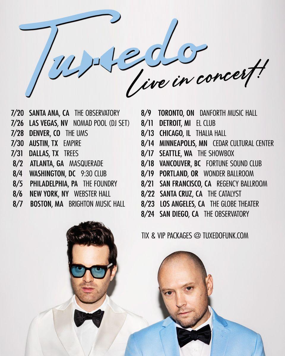 Tuxedo Tour