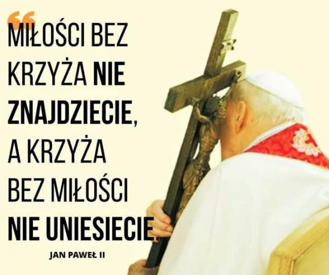 Miłości bez krzyża nie znajdziecie | Polish words, Thoughts and feelings,  Best quotes