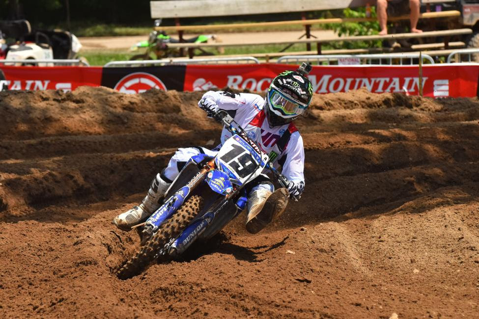 Bradley Taft went 1-2-1 to earn the 250 A class championship.Photo: Ken Hill