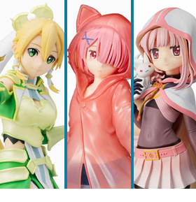 Sega Anime Figures