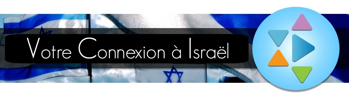 French Daily Connection to Israel - White Text