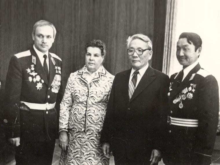 Анастасия Ивановна с мужем. <br>