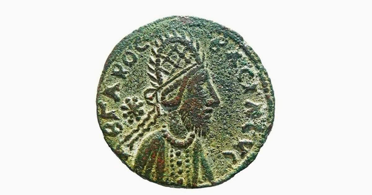 ¿Contiene esta antigua moneda el primer retrato de Jesucristo?