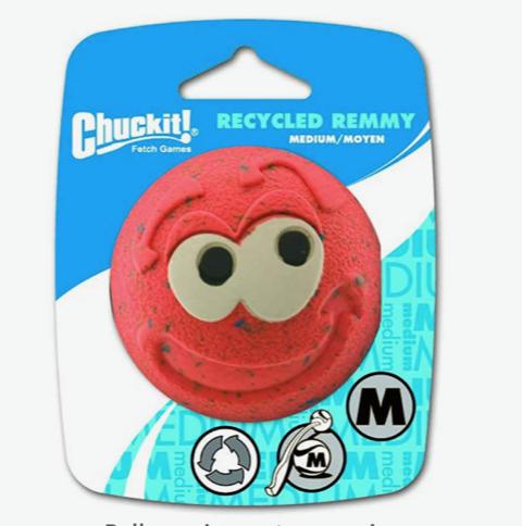 ChuckIt! Recycled Remmy Ball Dog Toy, Medium $5 @amazon.com