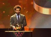 """""""Este premio es muy importante para mí, estoy muy feliz porque desde joven tuve el sueño de ganarlo algún día"""", sostuvo Salah."""