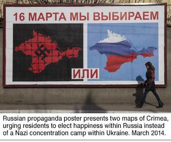 Crimean referendum poster
