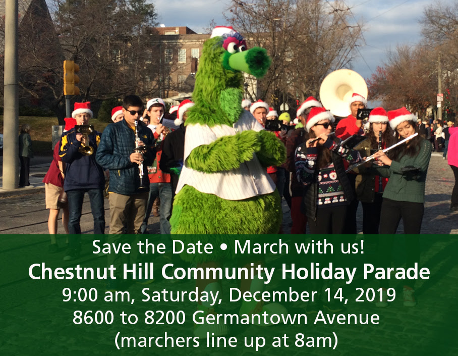 Chestnut Hill Community Holiday Parade
