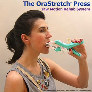 The OraStretch press Jaw motion rehab system