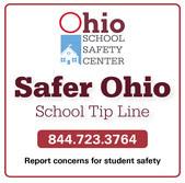 Safer Ohio School Tip Line