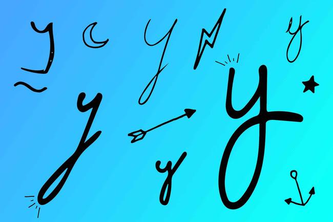 Cách viết đuôi chữ 'y'