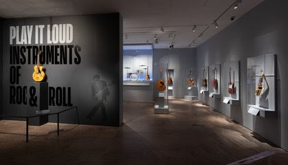From Buddy Holly to Lady Gaga, the Met's New 'Play It Loud' Exhibit Features the Instruments of Rock and Roll Greats image