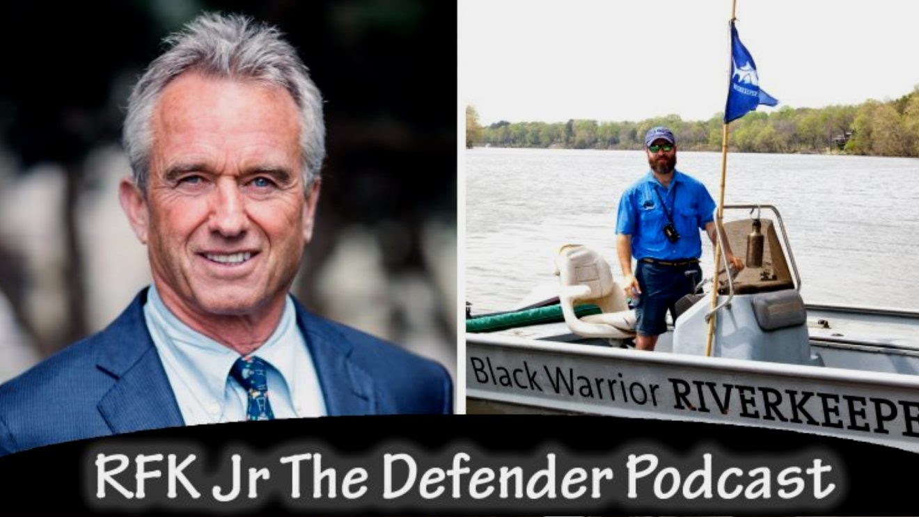 RFK, Jr. and Black Warrior Riverkeeper Nelson Brooke on Holding Corporate Polluters Accountable River-1320x743