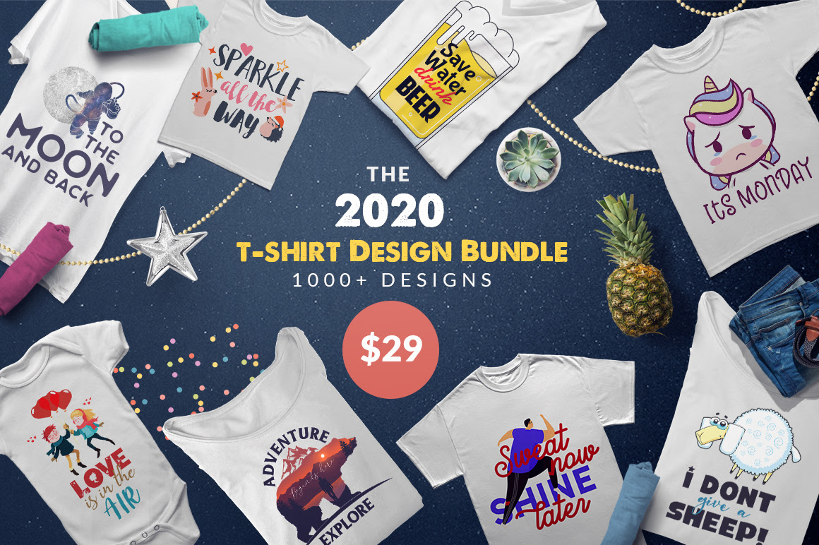 The 2020 T-Shirt Design Bundle Pixelo Discount Coupon