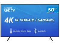 Smart TV 4K LED 50? Samsung UN50RU7100 Wi-Fi
