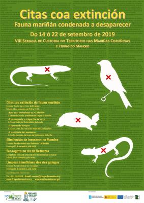 Imaxe do cartel da VIII Semana de Custodia do Territorio nas Mariñas Coruñesas e Terras do Mandeo
