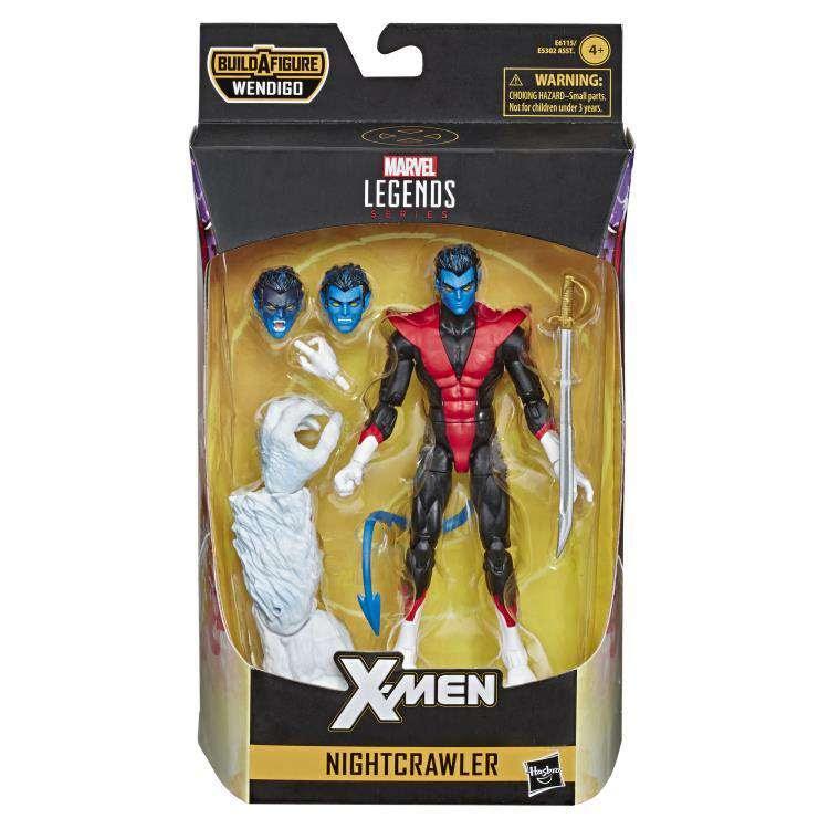 Image of X-Force Marvel Legends Wave 1 (Wendigo BAF) - Nightcrawler