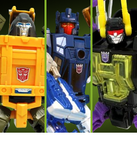 TRANSFORMERS LEGENDS LG47, LG48, & LG49