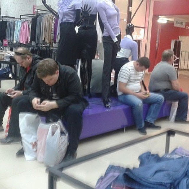 miserable men instagram men shopping with their wives and girlfriends (17)