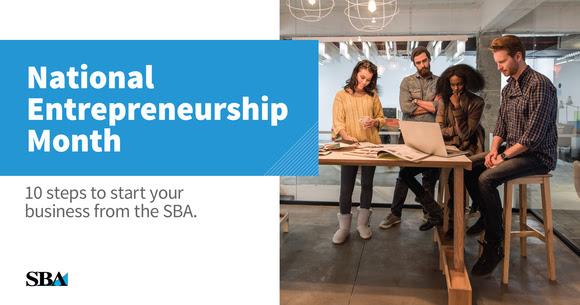 national entrepreneurship day logo