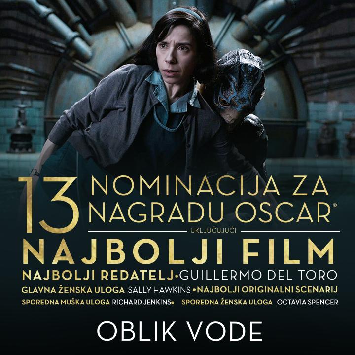 Blitz predstavlja filmove nominirane za Oscara