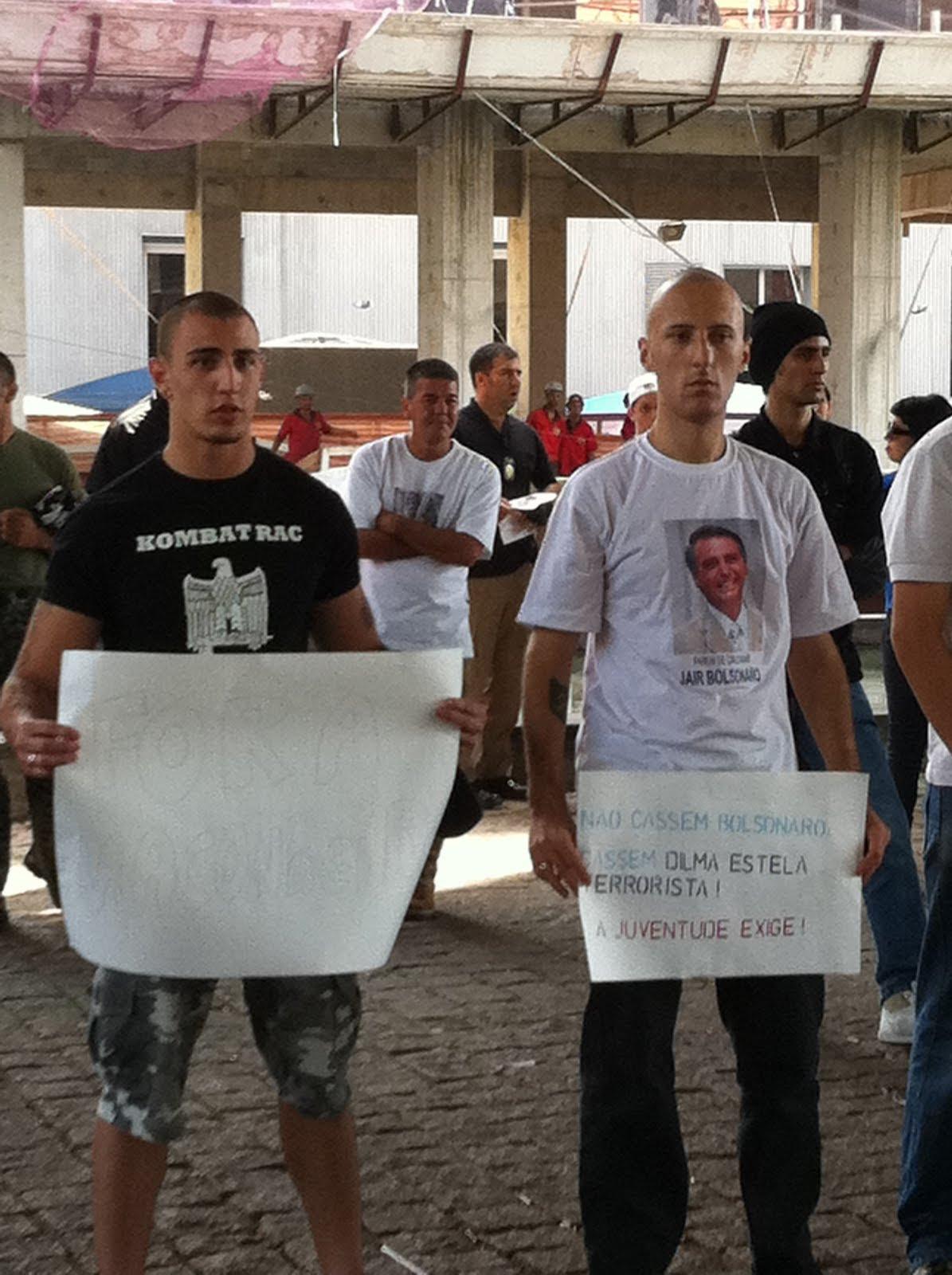 O protesto dos neonazistas na Paulista em defesa de Bolsonaro | Quebrando Tabus