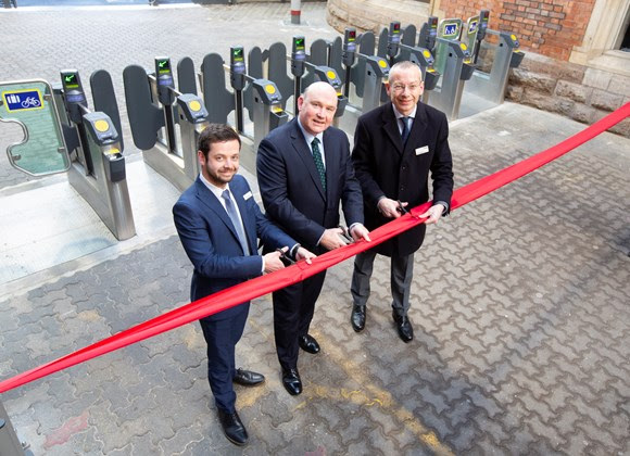 Passengers at Bristol Temple Meads to benefit from easier station access as new ticket barriers are officially opened