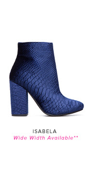 ISABELA WIDE WIDTH AVAILABLE