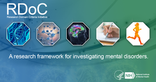 Research Domain Criteria Initiative (RDoC), a research framework that supports new ways of studying mental disorders.