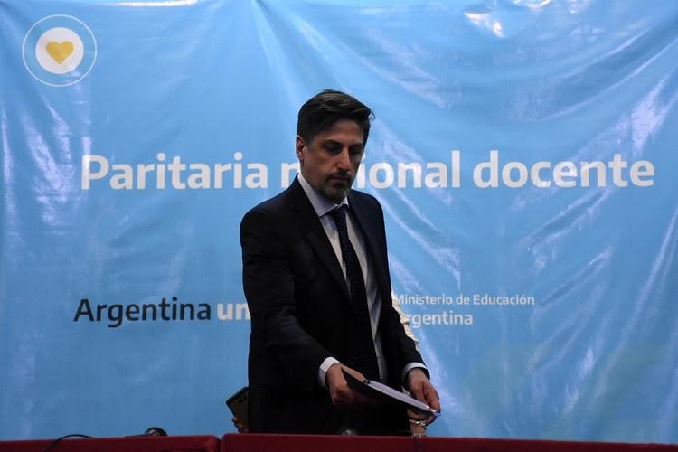 Nicolás Trotta, ministro de Educación Nacional (Nicolás Stulberg)