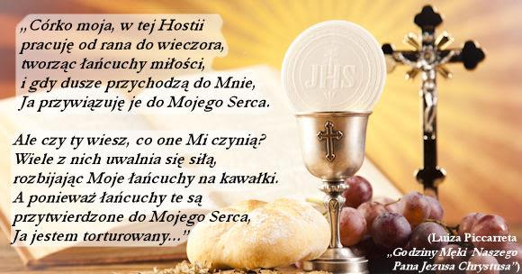 Znalezione obrazy dla zapytania: JEZUS ZYWY W EUCHARYSTII