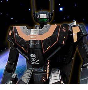 Robotech VF-1S Valkyrie (Dark Gold Ver.) 1/72 Scale Limited Edition Exclusive Figure