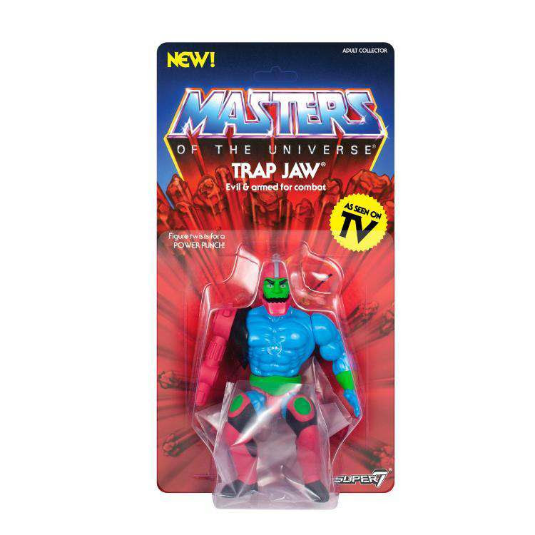 Image of Masters of the Universe Vintage Wave 3 - Trap Jaw - SEPTEMBER 2019