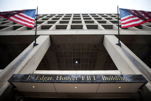 The J. Edgar Hoover building in Washington, where the F.B.I. is headquartered.
