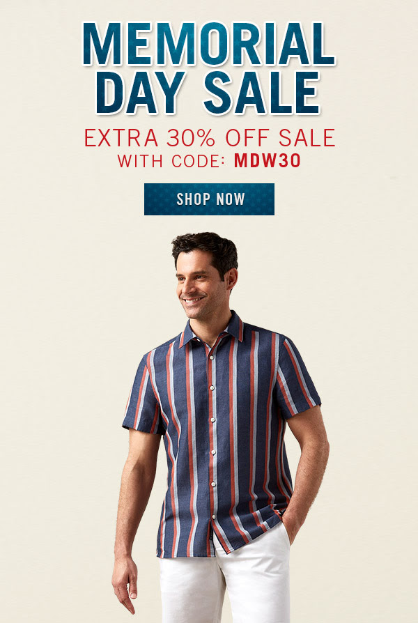 Perry Ellis: Save an Extra 30% Off These Top Picks