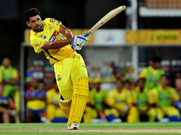 Murali Vijay debuted for CSK in the year 2009.