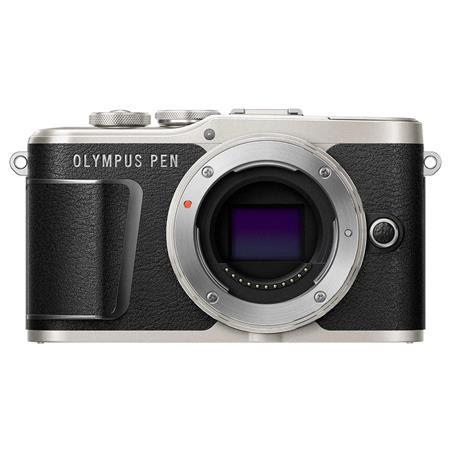 PEN E-PL9 16.1MP Mirrorless Camera Body, Onyx Black