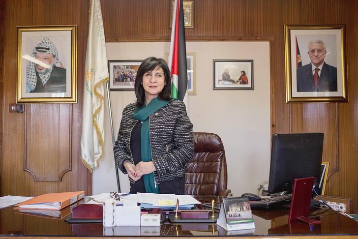 Vera Baboun a été élue maire de Bethléem il y a quatre ans. Elle représente le Fatah, le parti de Mahmoud Abbas.